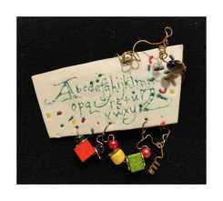 Alphabet Pin