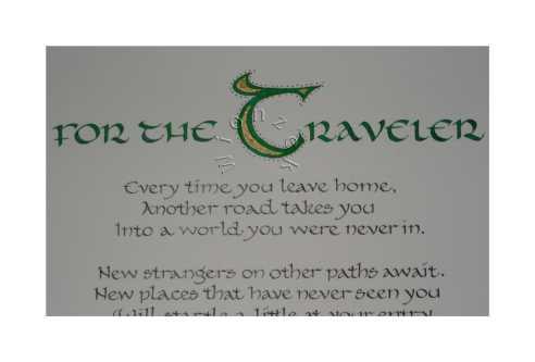 For the Traveler